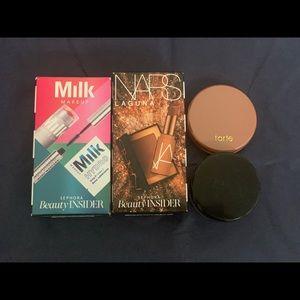 Nars and Milk makeup mini makeup sets